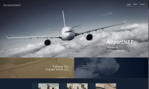 AirportNET Travel Blog Site Design and SEO Campaign